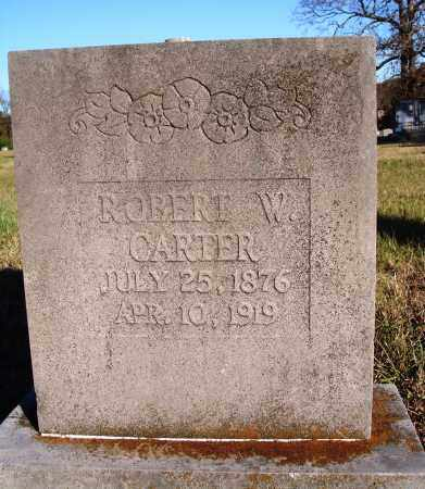 CARTER, ROBERT W. - Conway County, Arkansas | ROBERT W. CARTER - Arkansas Gravestone Photos
