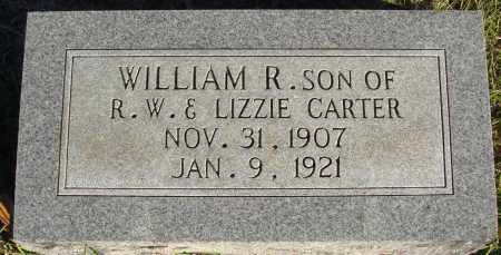 CARTER, WILLIAM R. - Conway County, Arkansas | WILLIAM R. CARTER - Arkansas Gravestone Photos