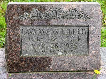 CASTLEBERTTY, LAVADA - Conway County, Arkansas | LAVADA CASTLEBERTTY - Arkansas Gravestone Photos