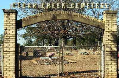*CEDAR CREEK CEMETERY,  - Conway County, Arkansas |  *CEDAR CREEK CEMETERY - Arkansas Gravestone Photos