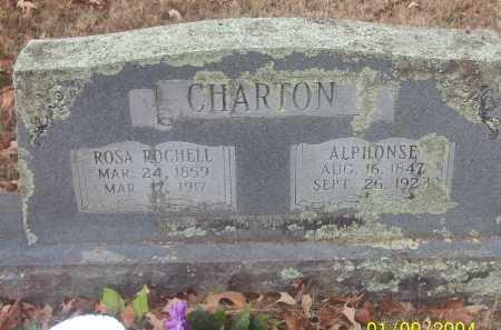 ROCHELLE CHARTON, ROSALIE JOSEPHINE - Conway County, Arkansas | ROSALIE JOSEPHINE ROCHELLE CHARTON - Arkansas Gravestone Photos