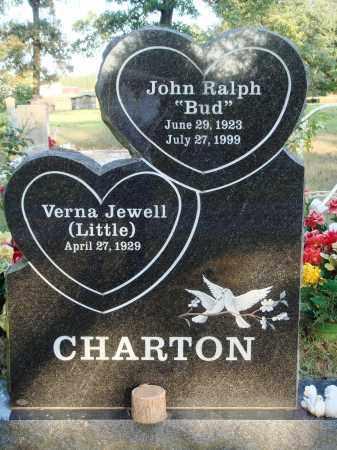 "CHARTON, JOHN RALPH ""BUD"" - Conway County, Arkansas | JOHN RALPH ""BUD"" CHARTON - Arkansas Gravestone Photos"