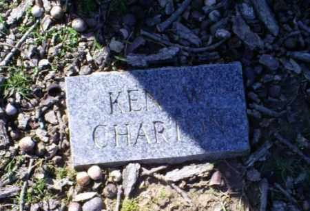 CHARTON, KEN W, - Conway County, Arkansas | KEN W, CHARTON - Arkansas Gravestone Photos