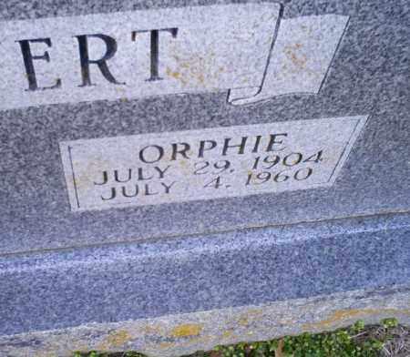 COLVERT, ORPHIE - Conway County, Arkansas | ORPHIE COLVERT - Arkansas Gravestone Photos