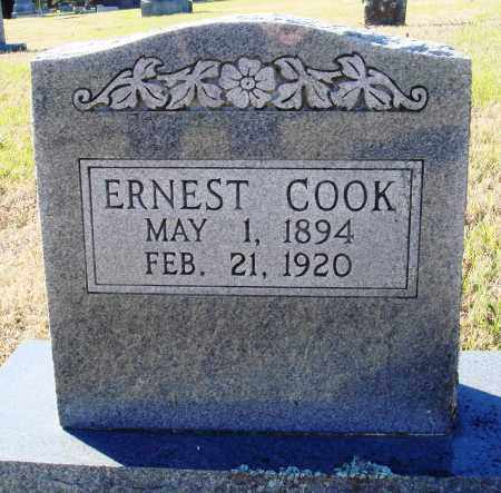 COOK, ERNEST - Conway County, Arkansas | ERNEST COOK - Arkansas Gravestone Photos