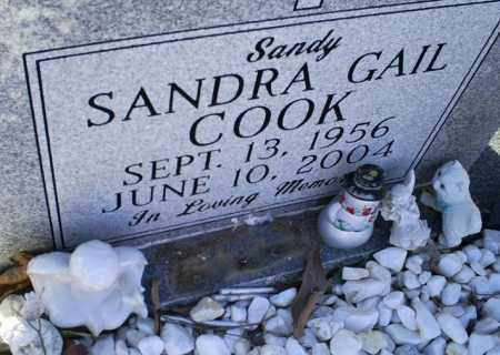 "COOK, SANDRA GAIL ""SANDY"" - Conway County, Arkansas 