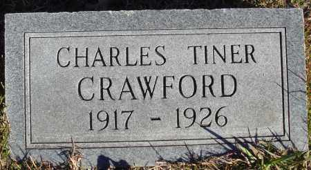 CRAWFORD, CHARLES TINER - Conway County, Arkansas | CHARLES TINER CRAWFORD - Arkansas Gravestone Photos
