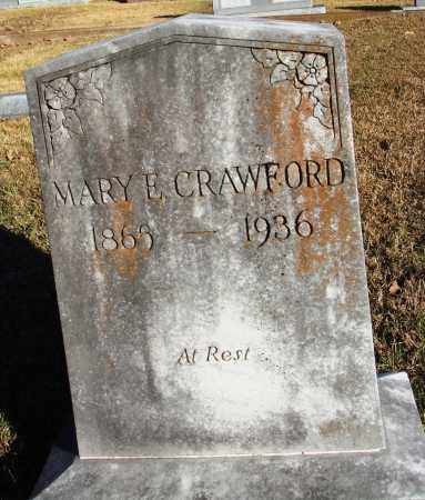 CRAWFORD, MARY E. - Conway County, Arkansas | MARY E. CRAWFORD - Arkansas Gravestone Photos