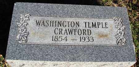 CRAWFORD, WASHINGTON TEMPLE - Conway County, Arkansas | WASHINGTON TEMPLE CRAWFORD - Arkansas Gravestone Photos