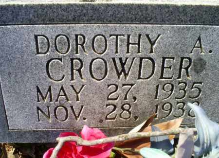 CROWDER, DOROTHY A. - Conway County, Arkansas | DOROTHY A. CROWDER - Arkansas Gravestone Photos