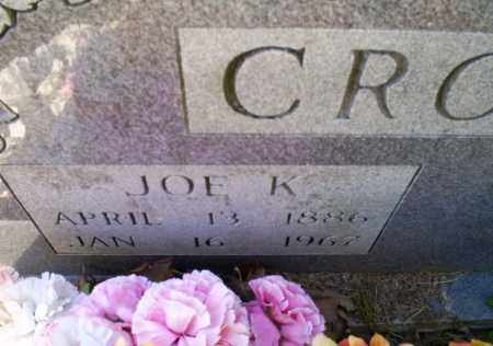 CROWDER, JOE K. - Conway County, Arkansas | JOE K. CROWDER - Arkansas Gravestone Photos