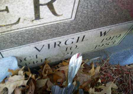 CROWDER, VIRGIL W, - Conway County, Arkansas | VIRGIL W, CROWDER - Arkansas Gravestone Photos