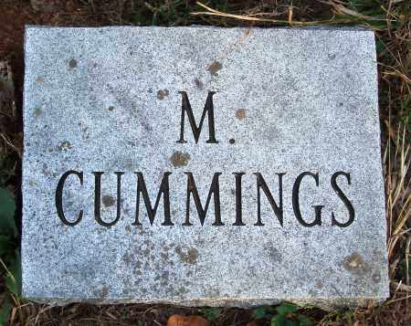 CUMMINGS, M. - Conway County, Arkansas | M. CUMMINGS - Arkansas Gravestone Photos