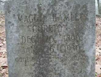 CURETON, MAGGIE - Conway County, Arkansas | MAGGIE CURETON - Arkansas Gravestone Photos