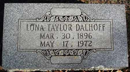 DALHOFF, LONA - Conway County, Arkansas | LONA DALHOFF - Arkansas Gravestone Photos