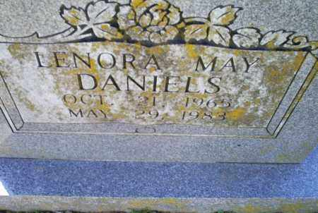 DANIELS, LENORA MAY - Conway County, Arkansas | LENORA MAY DANIELS - Arkansas Gravestone Photos