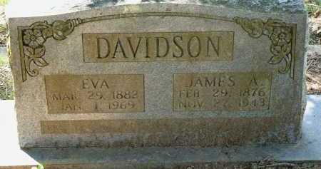 DAVIDSON, EVA - Conway County, Arkansas | EVA DAVIDSON - Arkansas Gravestone Photos