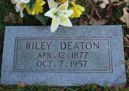 DEATON, RILEY - Conway County, Arkansas | RILEY DEATON - Arkansas Gravestone Photos
