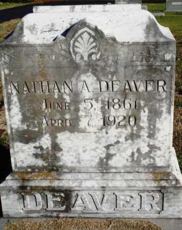 DEAVER, NATHAN A. - Conway County, Arkansas | NATHAN A. DEAVER - Arkansas Gravestone Photos