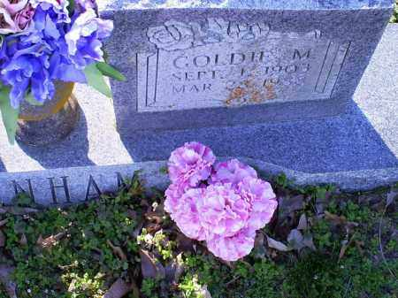 DENHAM, GOLDIE M. - Conway County, Arkansas | GOLDIE M. DENHAM - Arkansas Gravestone Photos