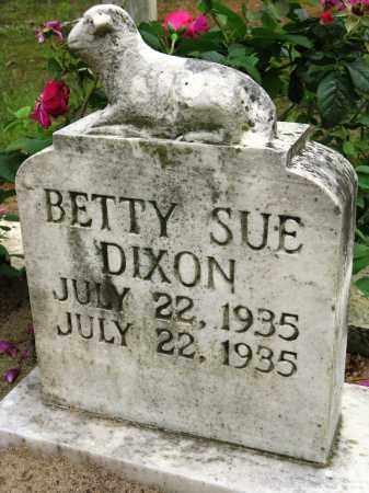 DIXON, BETTY SUE - Conway County, Arkansas | BETTY SUE DIXON - Arkansas Gravestone Photos
