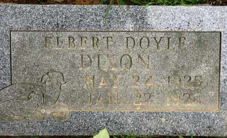 DIXON, ELBERT DOYLE - Conway County, Arkansas | ELBERT DOYLE DIXON - Arkansas Gravestone Photos