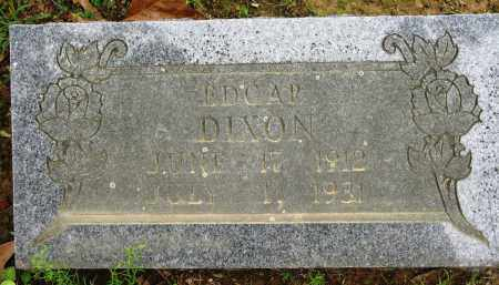 DIXON, EDGAR - Conway County, Arkansas | EDGAR DIXON - Arkansas Gravestone Photos