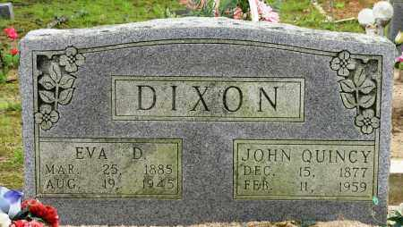 DIXON, JOHN QUINCY - Conway County, Arkansas | JOHN QUINCY DIXON - Arkansas Gravestone Photos