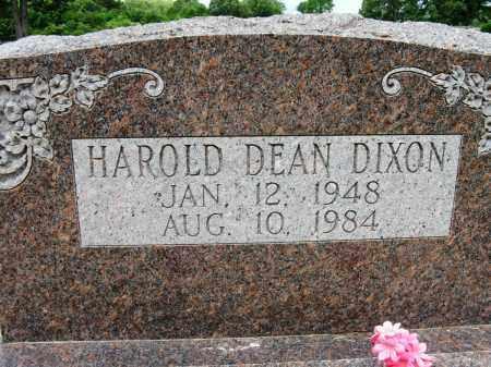 DIXON, HAROLD DEAN - Conway County, Arkansas | HAROLD DEAN DIXON - Arkansas Gravestone Photos