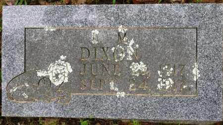 DIXON, L M - Conway County, Arkansas | L M DIXON - Arkansas Gravestone Photos