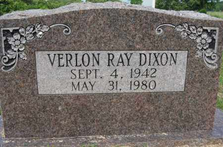 DIXON, VERLON RAY - Conway County, Arkansas | VERLON RAY DIXON - Arkansas Gravestone Photos