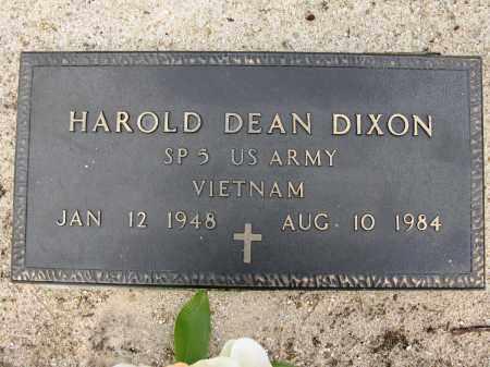 DIXON (VETERAN VIET), HAROLD DEAN - Conway County, Arkansas | HAROLD DEAN DIXON (VETERAN VIET) - Arkansas Gravestone Photos