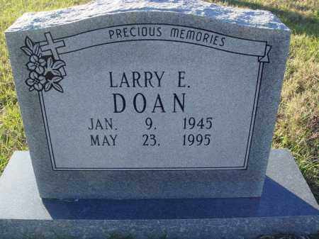 DOAN, LARRY E. - Conway County, Arkansas | LARRY E. DOAN - Arkansas Gravestone Photos