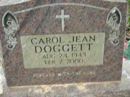 DOGGETT, CAROL JEAN - Conway County, Arkansas | CAROL JEAN DOGGETT - Arkansas Gravestone Photos