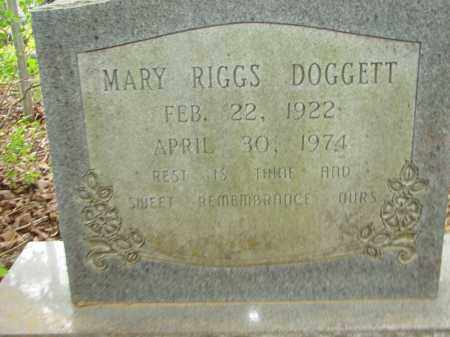 DOGGETT, MARY - Conway County, Arkansas | MARY DOGGETT - Arkansas Gravestone Photos