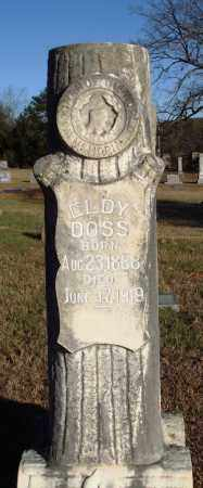 DOSS, ELDY - Conway County, Arkansas | ELDY DOSS - Arkansas Gravestone Photos