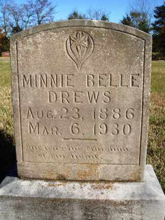 DREWS, MINNIE BELLE - Conway County, Arkansas | MINNIE BELLE DREWS - Arkansas Gravestone Photos