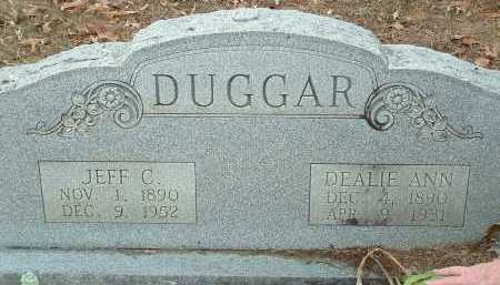 DUGGAR, DEALIE ANN - Conway County, Arkansas | DEALIE ANN DUGGAR - Arkansas Gravestone Photos