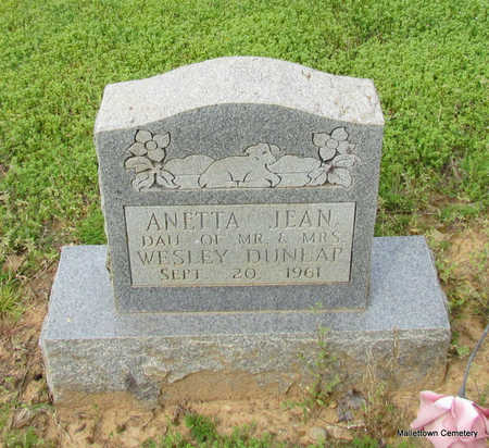 DUNLAP, ANETTA JEAN - Conway County, Arkansas | ANETTA JEAN DUNLAP - Arkansas Gravestone Photos