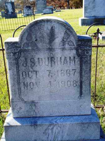 DURHAM, J. S. - Conway County, Arkansas | J. S. DURHAM - Arkansas Gravestone Photos