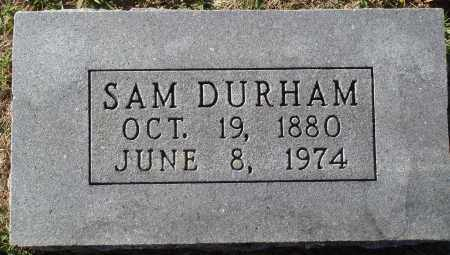 DURHAM, SAM - Conway County, Arkansas | SAM DURHAM - Arkansas Gravestone Photos