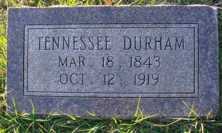 DURHAM, TENNESSEE - Conway County, Arkansas | TENNESSEE DURHAM - Arkansas Gravestone Photos