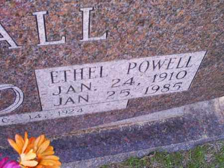 POWELL DUVALL, ETHEL - Conway County, Arkansas | ETHEL POWELL DUVALL - Arkansas Gravestone Photos