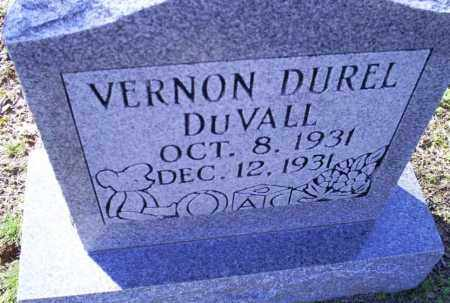 DUVALL, VERNON DUREL - Conway County, Arkansas | VERNON DUREL DUVALL - Arkansas Gravestone Photos