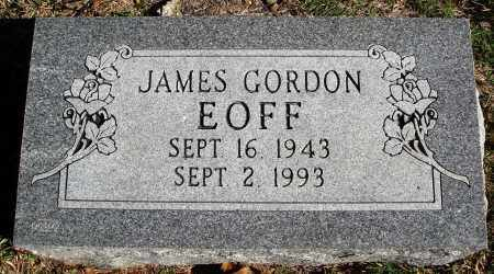 EOFF, JAMES GORDON - Conway County, Arkansas | JAMES GORDON EOFF - Arkansas Gravestone Photos