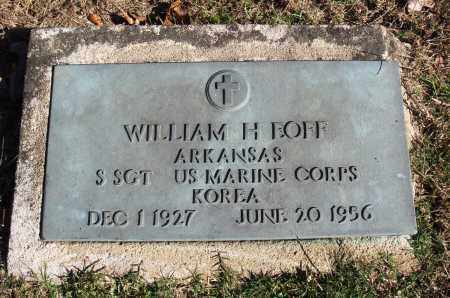 EOFF  (VETERAN KOR), WILLIAM HOOVER - Conway County, Arkansas | WILLIAM HOOVER EOFF  (VETERAN KOR) - Arkansas Gravestone Photos