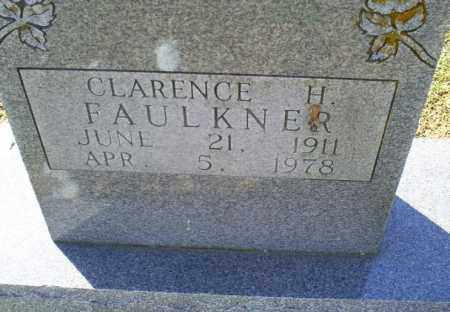 FAULKNER, CLARENCE H. - Conway County, Arkansas | CLARENCE H. FAULKNER - Arkansas Gravestone Photos