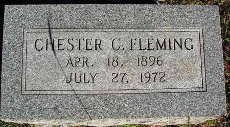 FLEMING, CHESTER C. - Conway County, Arkansas | CHESTER C. FLEMING - Arkansas Gravestone Photos
