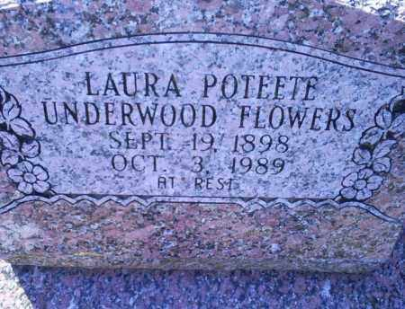 FLOWERS, LAURA - Conway County, Arkansas | LAURA FLOWERS - Arkansas Gravestone Photos