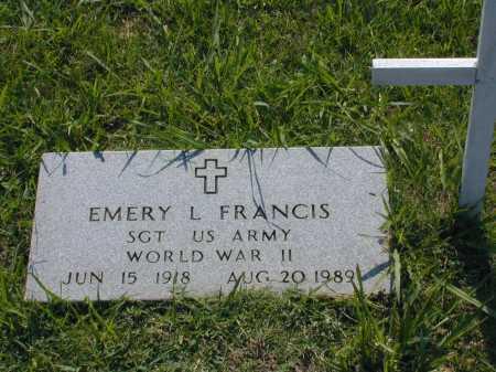 FRANCIS (VETERAN WWII), EMERY LOUIS - Conway County, Arkansas | EMERY LOUIS FRANCIS (VETERAN WWII) - Arkansas Gravestone Photos